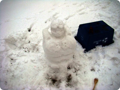 Master Chief Halo Snowman