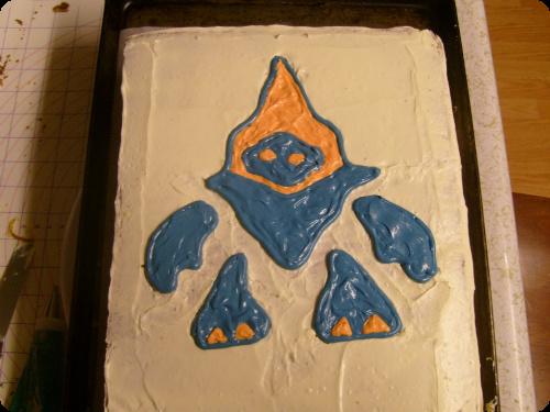 Halo Grunt Cake