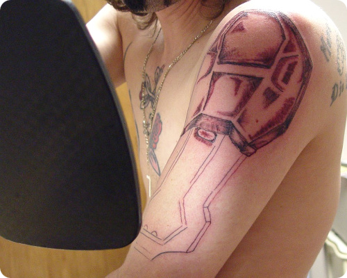 Halo Armor Tattoo
