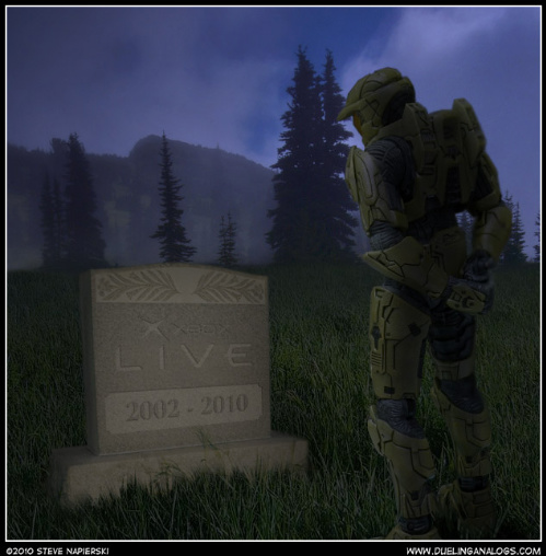RIP Xbox Live Dualing Analogs