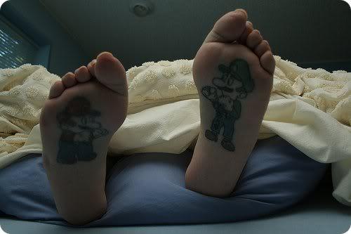 Mario and Luigi Tattoo