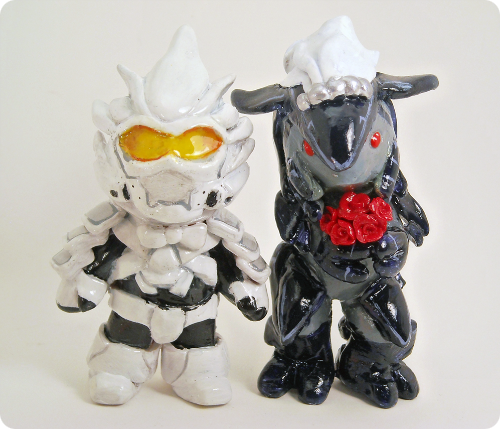 Halo Wedding Cake Topper