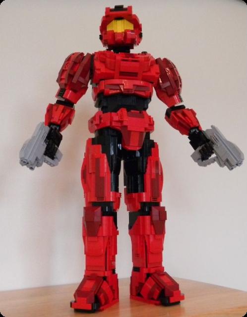 Lego Halo Reach Spartan