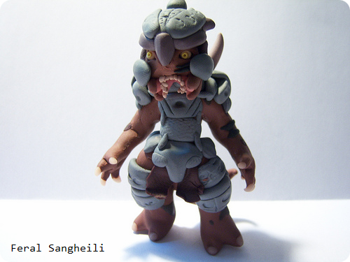 Halo Clay Figure Feral Sangheili