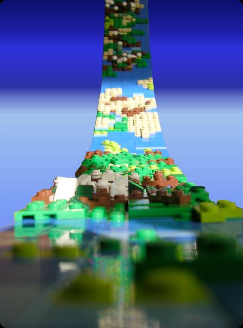 Halo Lego Ringworld