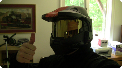 Master Chief Motorcycle Helmet