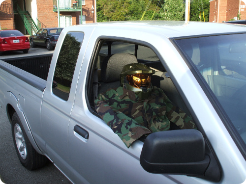 Military Carpool Lane Dummy