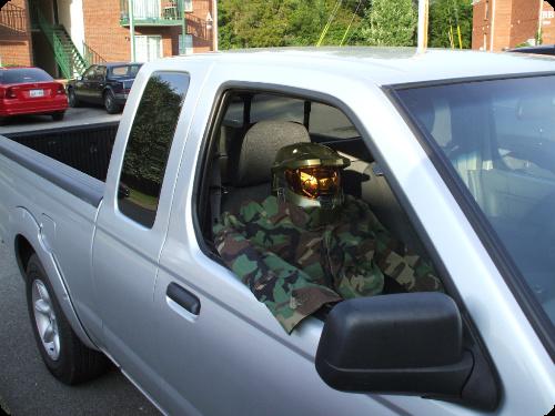 Military Carpool Lane Dummy