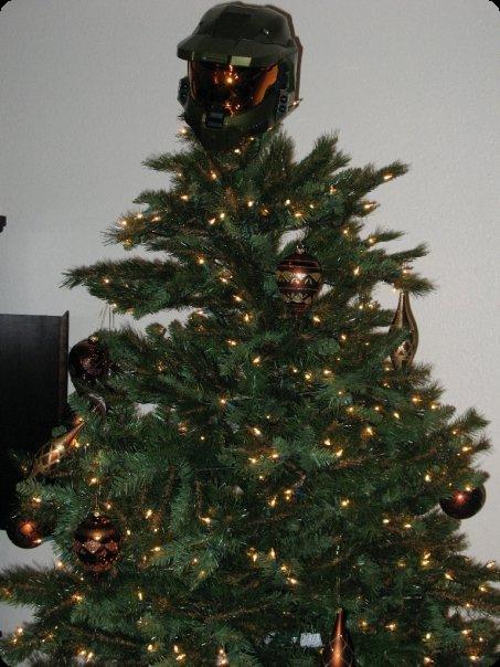 Halo Christmas Tree Topper