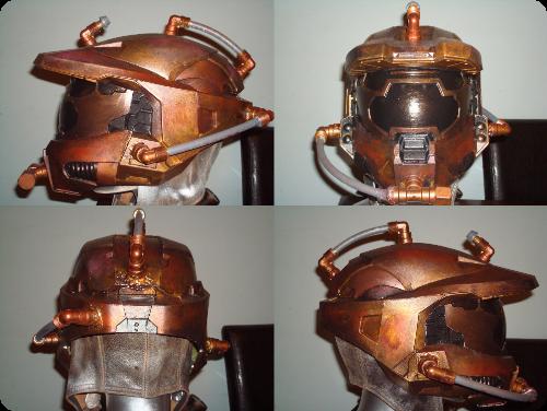 Steampunk Halo Helmet