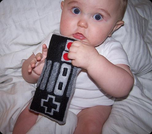 Baby Nintendo Toy