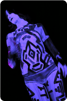 Body Painted Cortana
