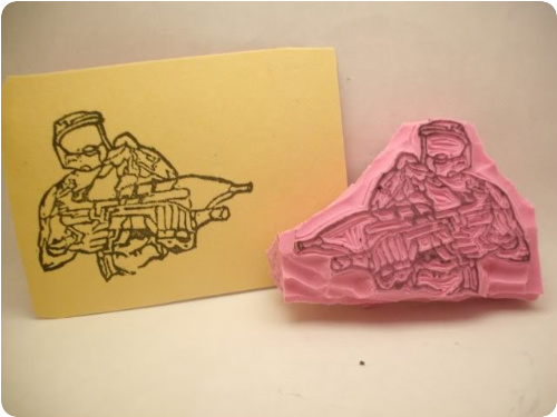 Master Chief Stamp