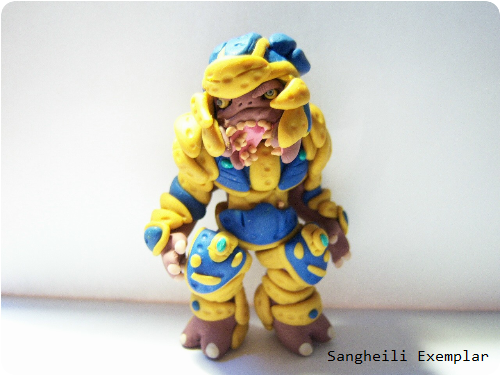 Halo Clay Figure Sangheili Exemplar