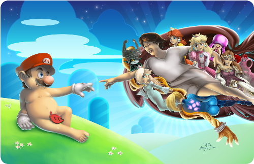 The Creation of Mario