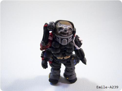 Halo Clay Figure Emile-A239