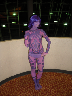 Body Painted Cortana