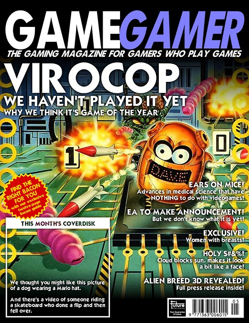 If Today's Gaming Blogs Were Magazines
