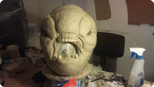 Halo Grunt Costume Head Sculpt