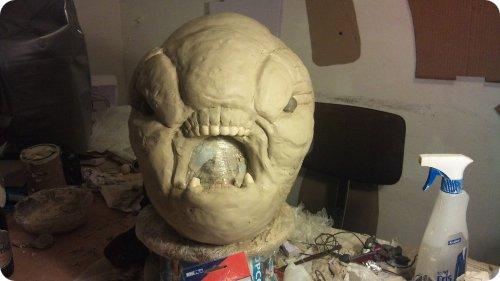 Halo Grunt Costume Head Sculpt