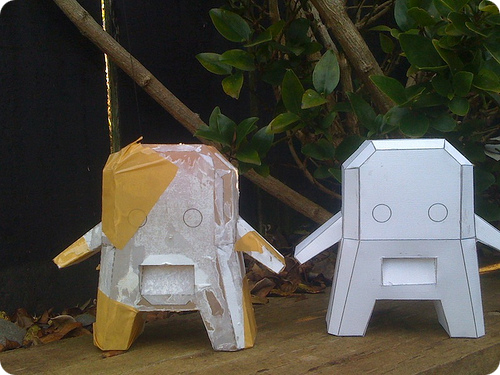 Oonsk Halo Papercraft