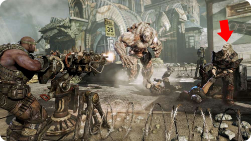 Gears of War 3 Pron