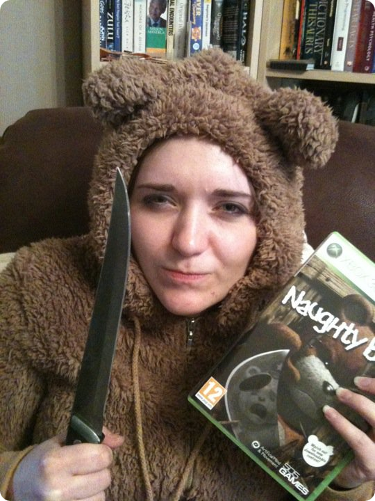 Naughty Bear Costume