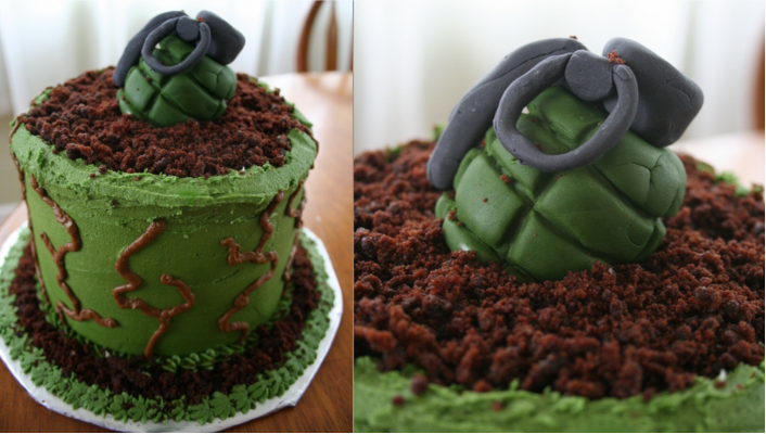 Awe Inspiring This Halo Grenade Cake Will Explode In Your Mouth Not In Your Birthday Cards Printable Nowaargucafe Filternl