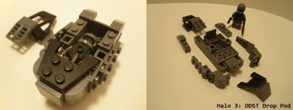 Lego Halo 3: ODST Drop Pod