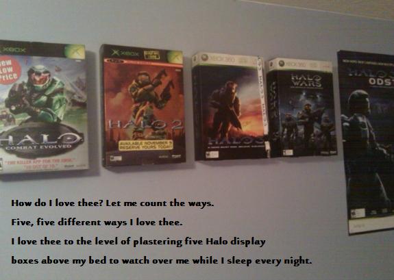 Halo Display Boxes
