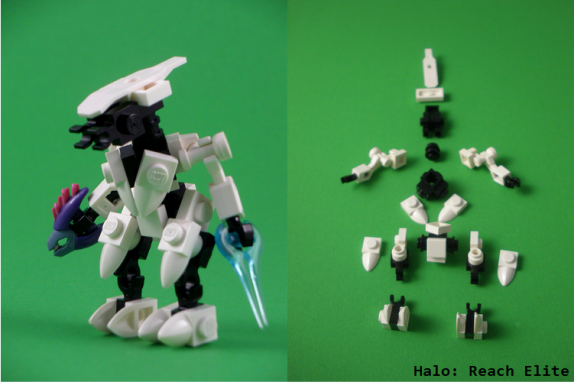 Lego Halo: Reach Elite