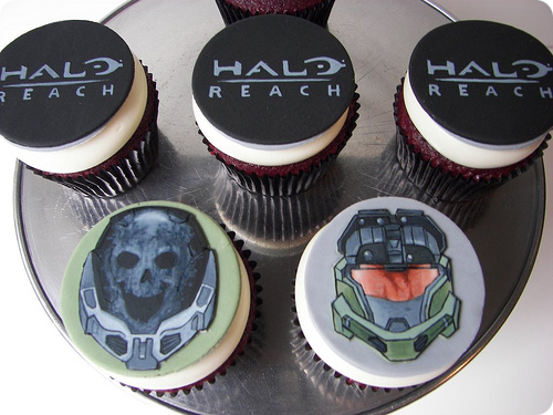 Halo: Reach Cupcakes