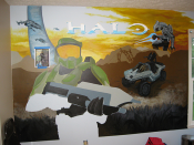 Halo Mural