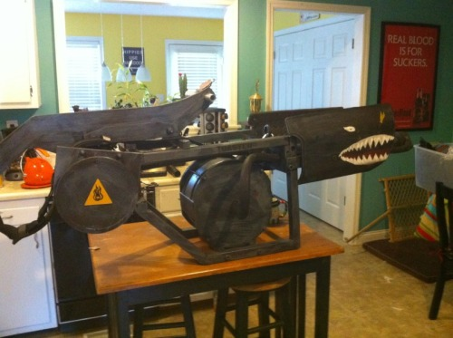Real Halo 3 Flamethrower