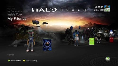 Halo: Reach Noble Team Xbox Live Theme