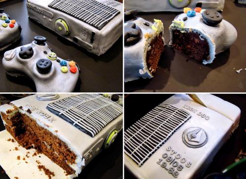 Halo: Reach Console Cake