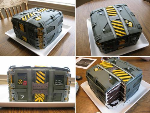 Halo: Reach Cake